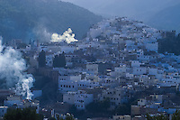 Morocco. Moulay Idriss in morning light.