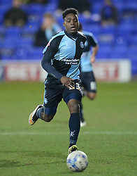 Wycombe Wanderers's Fred Onyedinma in action Photo mandatory by-line: Richard Martin-Roberts/JMP - Mobile: 07966 386802 - 03/03/2015 - SPORT - football - Tranmere - Prenton Park - Tranmere Rovers v Wycombe Wanderers - Sky Bet League Two