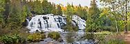 64797-00806 Bond Falls in fall, Ontonagon County, MI