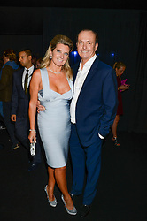 QUENTIN & MICHAELA WILSON at a party to celebrate the 1st birthday of nightclub 2&8 at Mortons held in Berkeley Square, London on 3rd October 2013.