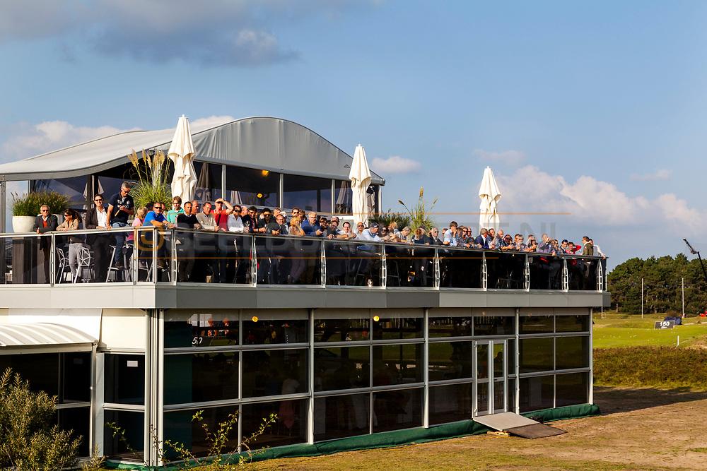 12-09-2014 Foto's van de tweede wedstrijddag van het KLM Open 2014, gespeeld op vrijdag 12 september op de Kennemer Golf & Country Club in Zandvoort, Nederland.