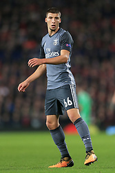 31st October 2017 - UEFA Champions League - Group A - Manchester United v SL Benfica - Ruben Dias of Benfica - Photo: Simon Stacpoole / Offside.