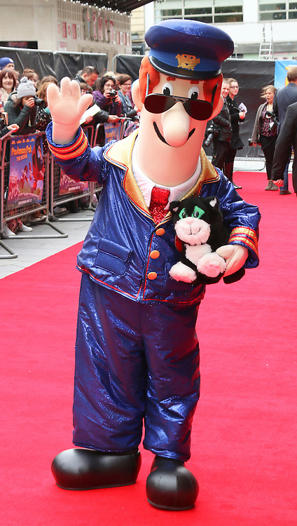© Licensed to London News Pictures. 11/05/2014, UK. Postman Pat, Postman Pat: The Movie - World Film Premiere, Odeon West End Leicester Square, London UK, 11 May 2014,. Photo credit : Richard Goldschmidt/Piqtured/LNP