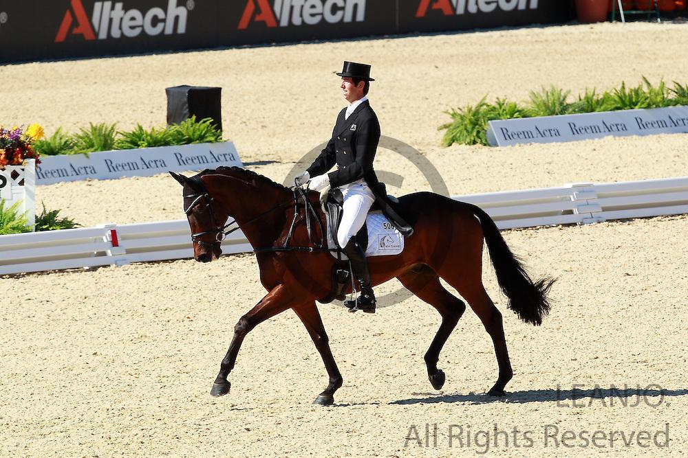Clarke Johnstone - Orient Express<br /> Alltech FEI World Equestrian Games <br /> Lexington - Kentucky 2010<br /> © DigiShots