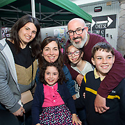 14.06.2018.             <br /> Limerick Food Group hosted the Urban Food Fest street food evening in the Milk Market on Thursday June 14th with a 'Summer Fiesta' theme in one big Limerick city summer party.<br /> <br /> Pictured at the event were, Chiara Tulino, Caoimhe, Brona, Catherine, Donnach and Cormack Norton. Picture: Alan Place