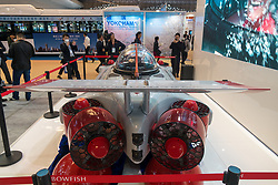 April 19, 2018 - Shanghai, Shanghai, China - Shanghai, CHINA-19th April 2018: The DeepFlight Submarine can be seen at the China (Shanghai) International Technology Fair in Shanghai, April 19th, 2018. (Credit Image: © SIPA Asia via ZUMA Wire)