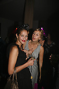 Tiany Belkiriloff and Els Keymeulen, Pepe Jeans, Sienna Miller  new ambassador party. 17 Berkeley Street, London, W1.  4 October 2006. -DO NOT ARCHIVE-© Copyright Photograph by Dafydd Jones 66 Stockwell Park Rd. London SW9 0DA Tel 020 7733 0108 www.dafjones.com