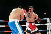Boxen: Schwergewicht, Hamburg, 29.09.2018<br /> Danilo Milacic (GER) - Daso Simeunovic (BIH)<br /> © Torsten Helmke