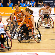 NLD/Rotterdam/20190706 - BN'ers spelen rolstoelbasketbal tijdens EK rolstoelbasketbal vrouwen, Ilse Arts