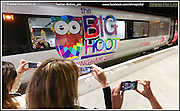 The Big Hoot photocall for Cross Country Trains at Birmingham new St, Birmingham. Picture by Shaun Fellows / Shine Pix