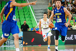 Matic Rebec of Slovenia during qualifying match between Slovenia and Kosovo for European basketball championship 2017,  Arena Stozice, Ljubljana on 31th August, Slovenia. Photo by Grega Valancic / Sportida