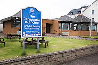 CARNOUSTIE Schotland - Golf club Carnoustie Golf Links. COPYRIGHT KOEN SUYK