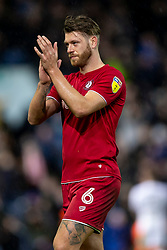 Nathan Baker of Bristol City applauds the away fans after the match - Mandatory by-line: Daniel Chesterton/JMP - 15/02/2020 - FOOTBALL - Elland Road - Leeds, England - Leeds United v Bristol City - Sky Bet Championship