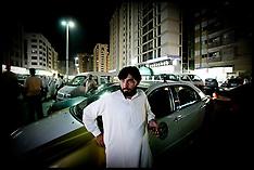 Pakistani Taxi driver in Abu Dhabi