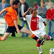 NLD/Hilversum/20060920 - Jubileumwedstrijd VV Altius - Lucky Ajax, Simon Tahamata