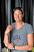 """San Diego, California. USA.  USA Double Olympian Gold Medalist,  Zsuzsanna """"Susan"""" FRANCIA, in  her role as  Women's Varsity coach at the San Diego Rowing Club. Mission Bay.  15:55:55.  Thursday  11/04/2013   [Mandatory Credit. Peter Spurrier/Intersport Images] .."""