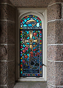 Window 8 on plan. St. Mary's by-the-Sea, Northeast Harbor, Maine.