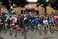 March 10, 2019 - Siena, Italia - Gian Mattia D'Alberto / lapresse.10-03-2019 Siena.Sport.Gara ciclistica Gran Fondo Strade Bianche 2019 .nella foto: la partenza..Gian Mattia D'Alberto  / lapresse.2019-03-10 Siena.Gran Fondo Strade Bianche 2019 .in the photo: the competition. (Credit Image: © Gian Mattia D'Alberto/Lapresse via ZUMA Press)