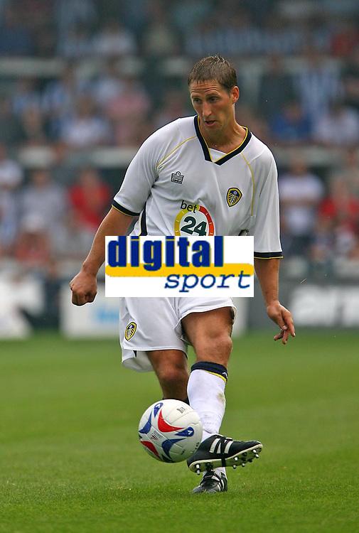 Photo: Andrew Unwin.<br />Hartlepool United v Leeds United. Pre Season Friendly. 22/07/2006.<br />Leeds' on-trial player, Robbie Elliott.