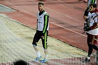 Spanish National Team's  training at Ciudad del Futbol stadium in Las Rozas, Madrid, Spain. In the pic: Sergio Ramos. March 25, 2015. (ALTERPHOTOS/Luis Fernandez)