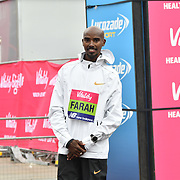 Mo Farah 1st place winner of the elite race at The Vitality Big Half 2019 on 10 March 2019, London, UK.