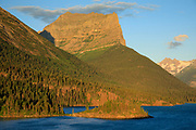 Heavey Runner Mountain, St Mary Lake Glacier National Park.