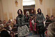 Pringle fashion show, NCH Spring Ladies lunch. NCH, the children's charity, helps children and young people facing difficulties or challenges in their lives. Mandarin Oriental Hotel. 8 March 2007.  -DO NOT ARCHIVE-© Copyright Photograph by Dafydd Jones. 248 Clapham Rd. London SW9 0PZ. Tel 0207 820 0771. www.dafjones.com.