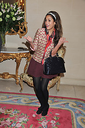 KARIN JOEL at Tatler's Jubilee Party in association with Thomas Pink held at The Ritz, Piccadilly, London on 2nd May 2012.