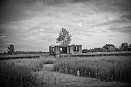 Abandoned house between Ochamchira and Gali. 2008.
