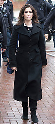 © Licensed to London News Pictures. 27/01/14 The Metropolitan Police Service (MPS) have stated there will be no further action by police against NIGELLA LAWSON in connection with drug use. FILE PICTURE DATED 04/12/2013. London, UK. Television cook, NIGELLA LAWSON arriving at Isleworth Crown Court in London where she is due to give evidence in the trial of two former personal assistants who worked for her and Charles Saatchi. Italian Sisters Elisabetta and Francesca Grillo are accused of misappropriating funds while working for Saatchi and Lawson. Photo credit : Ben Cawthra/LNP