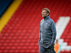 BLACKBURN, ENGLAND - Thursday, July 19, 2018: Liverpool's manager Jürgen Klopp during a preseason friendly match between Blackburn Rovers FC and Liverpool FC at Ewood Park. (Pic by Paul Greenwood/Propaganda)