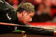 Matthew Stevens of Wales. Welsh Open Snooker at the Newport Centre, Feb 2009.