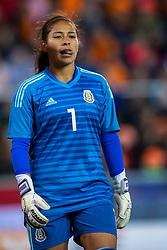 05-04-2019 NED: Netherlands - Mexico, Arnhem<br /> Friendly match in GelreDome Arnhem. Netherlands win 2-0 / Goalkeeper Cecilia Santiago #1 of Mexico