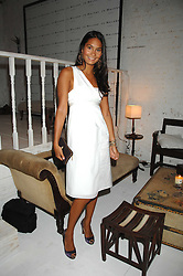 REENA HAMMER at a party to celebrate the launch of Jo Malone's new White Jasmine & Mint Cologne held at Number 1 The Piazza, Covent Garden, London on 12th September 2007.<br /><br />NON EXCLUSIVE - WORLD RIGHTS