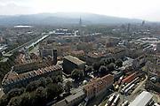 © Filippo Alfero<br /> Torino vista dall'alto della mongolfiera frenata Turin Eye al Baloon<br /> Torino, 20/09/2014