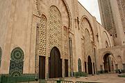 Interior of the Hassan II Mosque, Casablanca, Morocco