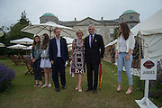 GEORDIE GREIG; LADY MARCH; LORD ASTOR, Goodwood Festival of Speed Cartier lunch. 27 June 2015