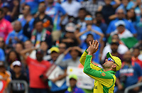 Cricket - 2019 ICC Cricket World Cup - Group Stage: India vs. Australia<br /> <br /> Australian substitute fielder Nathan Lyon takes the catch to dismiss India's Shikhar Dhawan for 117, at The Kia Oval.<br /> <br /> COLORSPORT/ASHLEY WESTERN