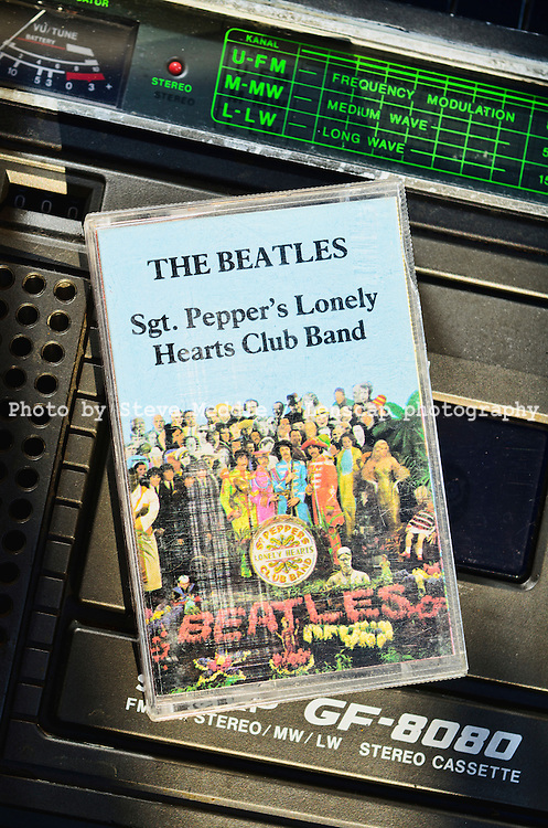 The Beatles, Sgt. Peppers Lonely Hearts Club Band Album on Cassette Tape - Oct 2011