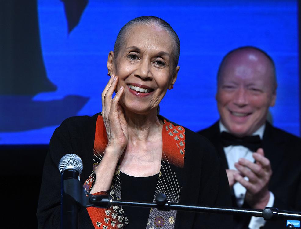 Mara Lavitt -- June 22, 2015<br /> The Connecticut Critics Circle 25th Annual Awards Ceremony at the Iseman Theater, Yale University, New Haven. Carmen de Lavallade.