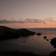 A view of a bay on the Pacific Ocean is seen from a hotel in Albion, California is seen on September 10, 2013. (AP Photo/Alex Menendez)