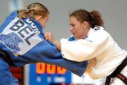 26-05-2006 JUDO: EUROPEES KAMPIOENSCHAP: TAMPERE FINLAND<br /> Nienke Klopstra verliest in de eerste ronde<br /> ©2006-WWW.FOTOHOOGENDOORN.NL