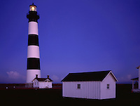 AA05830-02...NORTH CAROLINA - Bodie Island Lighthouse in Cape Hatteras National Seashore.
