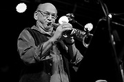 Saxophonist David Liebman at 3rd and Lindsley in Nashville, TN.
