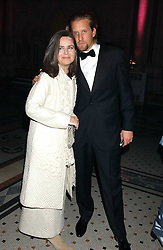 KOO STARK and JAKE PARKINSON-SMITH grandson of photographer Norman Parkinson at Andy & Patti Wong's annual Chinese New Year party, this year celebrating the year of the dog held at The Royal Courts of Justice, The Strand, London WC2 on 28th January 2006.<br /><br />NON EXCLUSIVE - WORLD RIGHTS