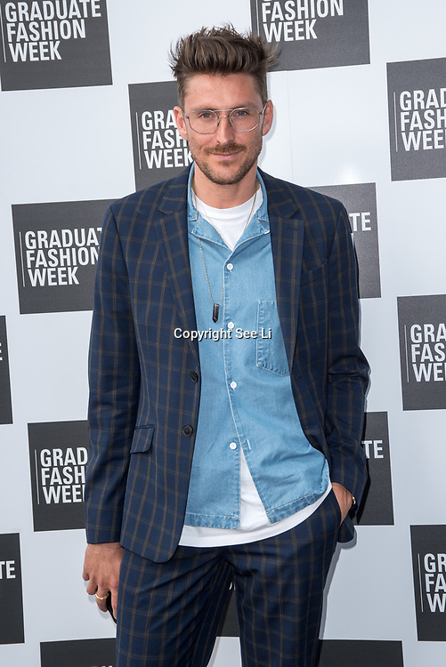 Henry Holland  arriver at the Graduate Fashion Week 2018, June 6 2018 at Truman Brewery, London, UK.