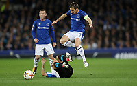 Football - 2017 / 2018 UEFA Europa League - Group E: Everton vs. Apollon Limassol<br /> <br /> Leighton Baines of Everton at Goodison Park.<br /> <br /> COLORSPORT/LYNNE CAMERON