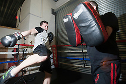 IKMS Krav Maga students take part in a class at Battlefield Gym in Glasgow.