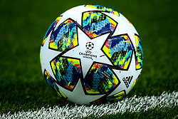 UEFA Champions League ball for the 2019/20 season - Mandatory by-line: Robbie Stephenson/JMP - 02/10/2019 - FOOTBALL - Anfield - Liverpool, England - Liverpool v Red Bull Salzburg - UEFA Champions League Group Stage