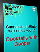 Sundance Institute Cocktails With Cooper